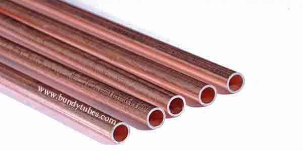 Copper Coated Bundy Tube